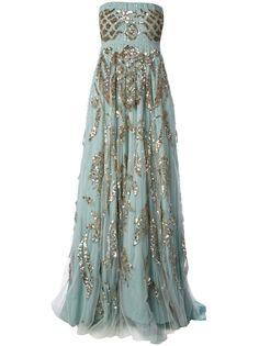 Amen Dress in Blue (Light Blue)