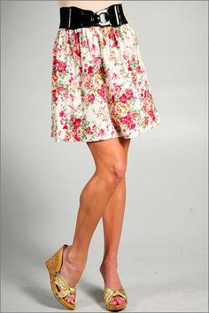 floral print skirts
