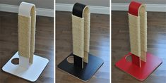 HUVE Collection just added this gorgeous modern cat scratcher to their exquisite line of cat furniture. This is a very unique and beautiful piece with multiple scratching surfaces for cats to sink their claws into. The base is designed with a cutout, allowing you to position the scratcher close to furniture by placing the foot of…