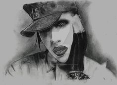 Marilyn Manson by TowersOfLondon