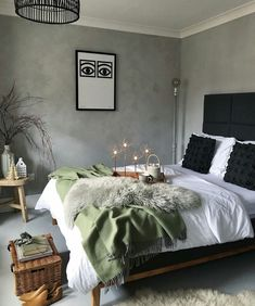 Bedroom Inspiration // MyNordicRoom The Perfect Scandinavian Style Home - Pursue your dreams of the perfect Scandinavian style home with these inspiring Nordic apartment designs. Diy Home Decor Rustic, Home Decoration, Scandinavian Style Home, Bedroom Pictures, Luxurious Bedrooms, Luxury Bedrooms, Master Bedrooms, Girls Bedroom, Bedroom Styles