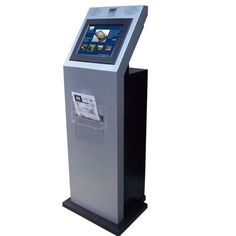Touchscreen self-service A4 printer kiosk/document kiosk, OSK1025, Free Standing Kiosk, KIOSK, China, Manufacturer | OSK Technology