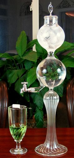 Absinthe Fountain, chasing the green faerie ...