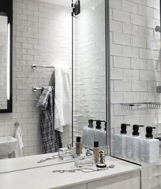 Kleine badkamer van Scandic Grand Central hotel   Interieur inrichting