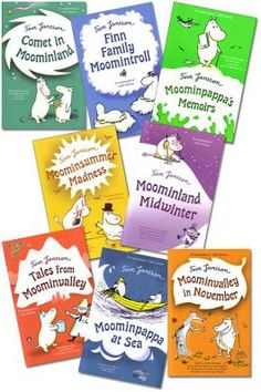 Everything I learnt in life I learnt from the Moomins