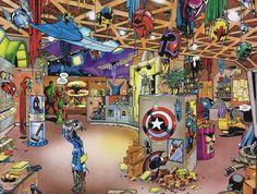 Vous avez enregistré dans Marvel - Les édition Lug/Semic Hulk, Futur imparfait - Le hall des héros