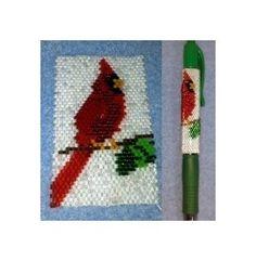 Northern Cardinal Pen Wrap