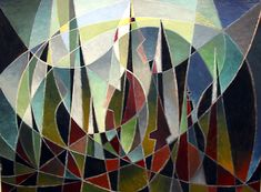 Birger Carlstedt - La Cathedrale engloutie, 1949