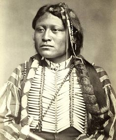 Son of Lone Wolf, Kiowa..1872