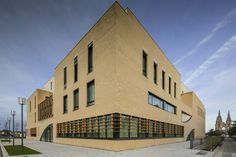 View the full picture gallery of Music And Dance Centre Architecture Art, Centre, Multi Story Building, France, Mansions, House Styles, Gallery, Music, Bruno