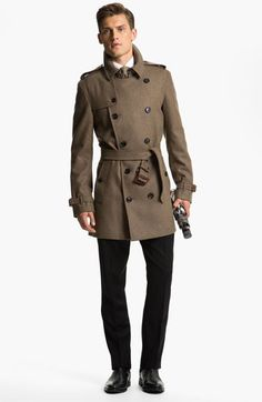 Men's Designer spotlight: Buberry- London Trench Coat $1395