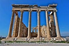 Acropolis of Athens, the Parthenon Temple