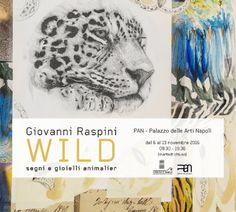 Napoli - Giovanni Raspini presenta Wild - Segni e gioielli animali al PAN | Palazzo delle Arti
