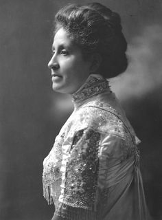Mary Church Terrell, ca. 1920.  Suffragette, co-founder of the National Association of Colored Women, and president of the Women's Republican League during Warren G. Harding's 1920 presidential campaign.