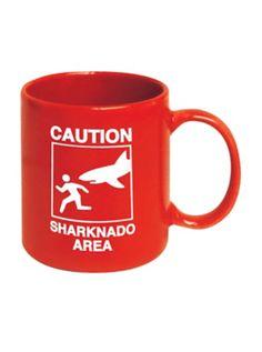 Sharknado Caution Area Mug