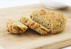 flax bread slice mini loaf yum!