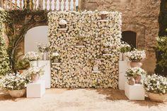 original flower seating  Komosara Wedding Planner www.komosara.com
