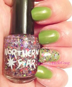 ColorMeSoCrazy  Northern Star- UFO Party Northern Star- Galactic Memories