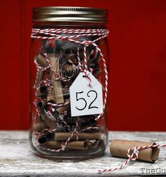Homemade Valentines Day Gifts in a Jar - 52 Things in a Year - DIY Valentines Day Ideas