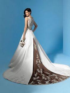 dark-purple-wedding-dress-8 | Cinderella\'s Colorful wedding ...