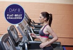 A great belly-fat fighting combo: intervals and a smoothie the helps you debloat!