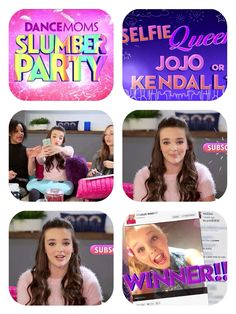 Follow @dancemommeredit for more collages dance moms slumber party