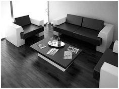 black interior design - Google Search