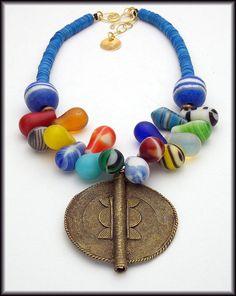 MALI  African Wedding Beads  African by sandrawebsterjewelry, $199.00
