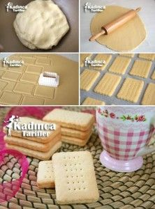 How to Make Homemade Petibör Biscuits Recipe? The womanly Tar … – About Sweets Greek Cooking, Cooking Time, Baby Food Recipes, Cookie Recipes, Candy Cookies, Recipe Mix, How To Make Homemade, Biscuit Recipe, Bon Appetit