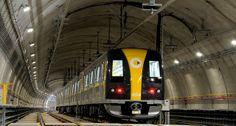 Trem da Linha 4 Amarela - Via Quatro - Metrô de São Paulo.