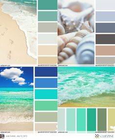Colbeach Or Palettes Beach Color Really Liking The Pastel Aquas For Master Bedroom