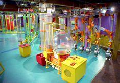 Playground Design, Children Playground, Roald Dahl Day, Rube Goldberg Machine, Magic House, Cool Bunk Beds, New Museum, Exhibition Booth, Chocolate Factory