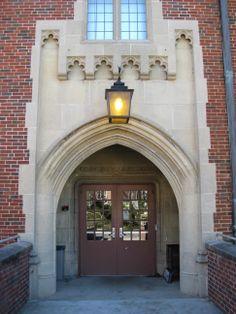 Hesler Biology Building, 1934, North Main Entrance.
