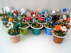 Juguetes Ecológicos: Reciclar capsulas de Nespresso