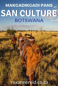 Want to learn about San culture? Join a San cultural experience near the Makgadikgadi pans at Jack's Camp Botswana. Learn how the San trap birds, how the San make fire or 'tame' scorpions, and how important a digging stick can be. #travel #culture #Bushmen