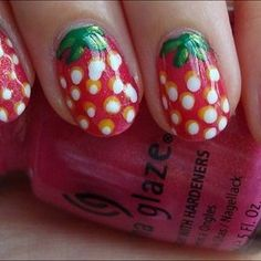 strawberries - I am doing this for Strawberry Festival next year!  :)