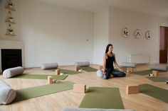 Fauna Yoga studio with Mandala Living Australian made eco friendly yoga bolsters Yoga Bolster, Meditation Cushion, Home Health, Health And Wellbeing, Own Home, Floor Chair, Home And Living, Eco Friendly, Mandala