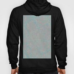 Re-Created SquaresXXX  #Hoody by #Robert #S. #Lee - $42.00