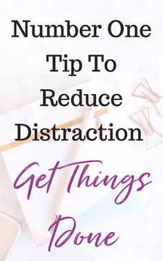 There are so many thinks that distract us and get in the way of reaching big goals. If we really want to get things done and be successful, we need to learn to stop distractions. I found this one tip to be a game changer! #productivity #emailmanagement #blogging #shinyobjectsyndrome