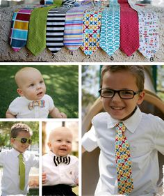 $9 Summer Lil Guy Ties and Bowties - 8 Designs to Choose From! at VeryJane.com