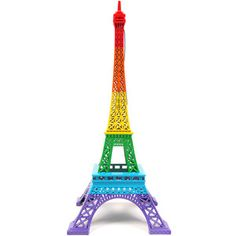 this is awesome! combines two of my favorite things: rainbows and the eiffel tower! too bad it's sold out :(