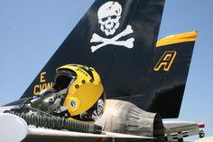 F14 Squadron insignia Jolly Roger Squadron