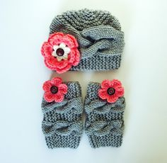 Newborn Baby Outfit Girls, Baby Girl Hat and Leg Warmers, Newborn Baby Girl, Kids legwarmer and Hat, Kids Winter, Kids Christmas Outfit by LuzyFlor on Etsy https://www.etsy.com/listing/256985344/newborn-baby-outfit-girls-baby-girl-hat