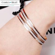 Stunning Double Circle Bracelet