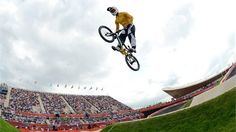 Sam Willoughby of Australia competes during the women's BMX Cycling