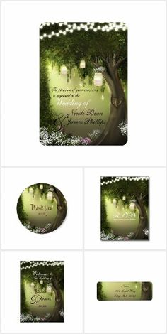 Oak Tree in Enchanted Forest Garden Collection