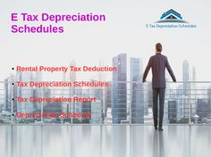 E Tax Depreciation Schedules is one of the main flexible organizations in giving Tax Depreciation plan all through Australia. We have qualified group of Quantity surveyors who are hugely capably Australian property charge subtraction rules. Our group has possessed the capacity to supply the characteristic of explorer property in profiting their property assessment guarantees the gather single one again the Nation.
