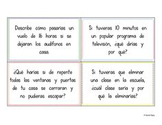 100 Conditional and Imperfect Subjunctive Spanish Writing Prompts