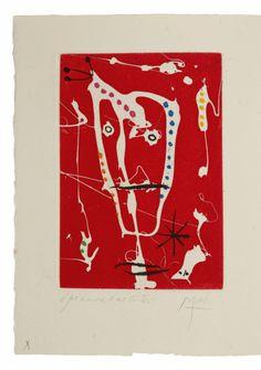 Joan Miró, Jacques Dupin : LES BRISANTS (Paris illustrated book proposed by Patrice Jeudy for sale on the art portal Amorosart Original Prints, Fine Art, Joan Miro Paintings, Chagall Paintings, Painting, Art, Abstract, Jewish Art, Prints