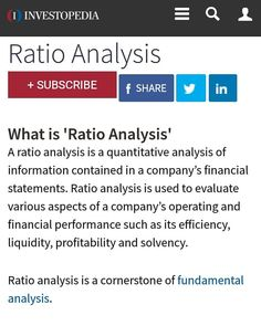 Financial Analysis Report Writing Chapter 9 Ratio Analysis Introduction The Analysis Of The Financial .